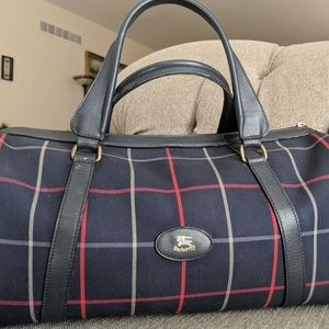 BURBERRY doctor style bag
